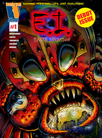 Earth Invasion from Wunderman Comics